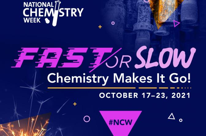 squared image of the National Chemistry Week logo