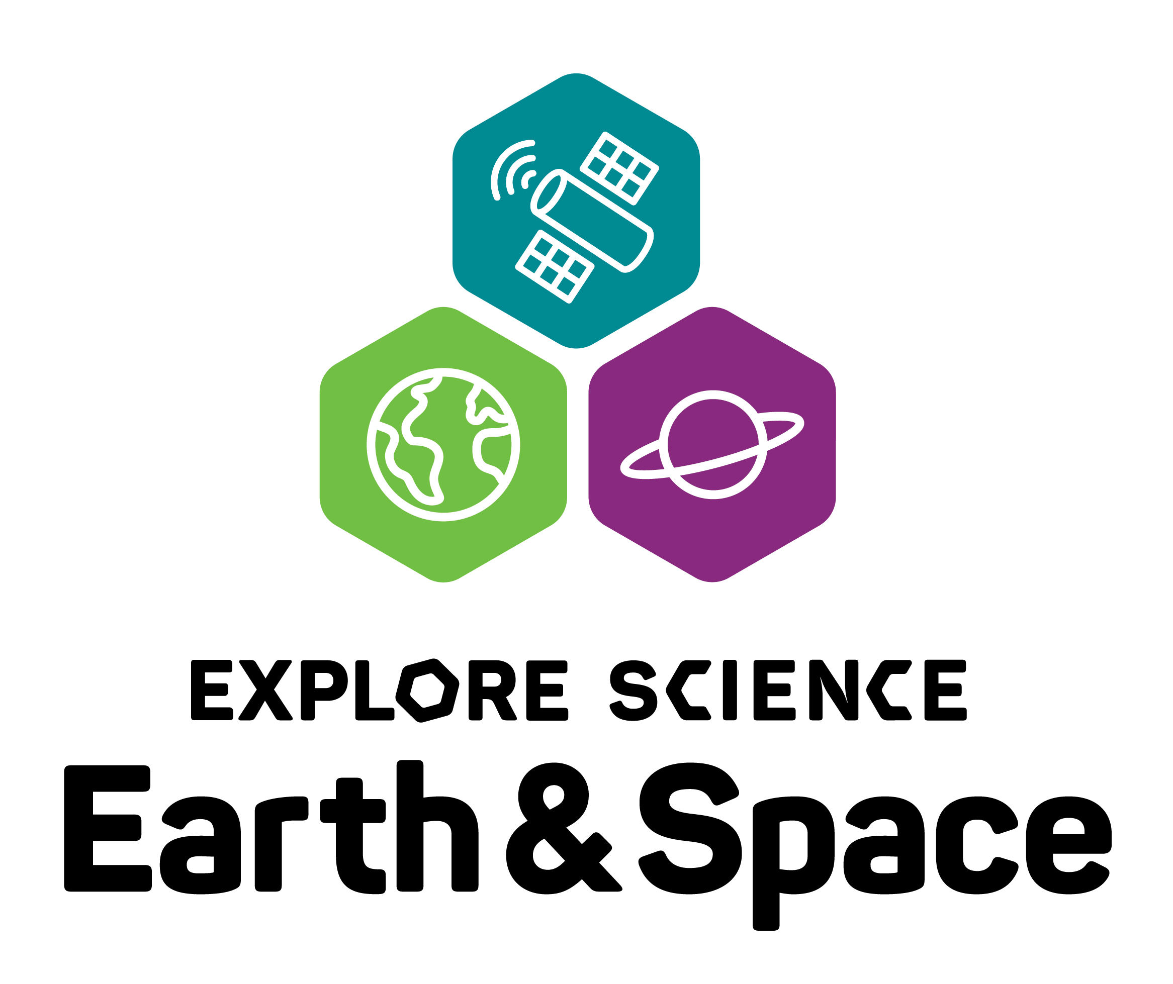Explore Science Earth Space logo